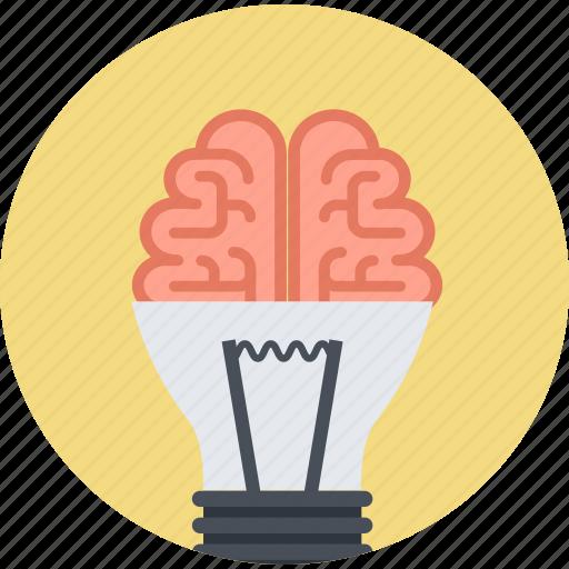 brainstorming, design, flat design, idea, innovation, marketing, thinking icon