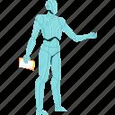 artificial, intelligence, robot, worker, technology, innovation