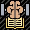 brain, training, educate, knowledge, reading