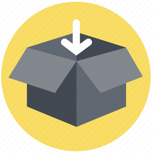 delivery, download, logistics, packaging, purchase, transport, transportation icon