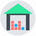 depot, godown, storage, store, warehouse icon