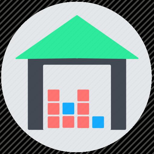 depot, godown, storage, store, warehouse icon