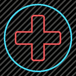 clinic, emergency, health care, hospital, medical icon