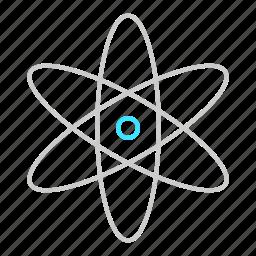 biology, medicall, molecule, nucleus, orbit, science icon