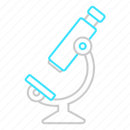 lab, laboratory, microscope, research, science icon
