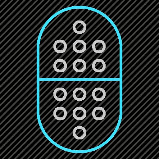 capsule, drug, health, medicine, pills, tablet, treatment icon