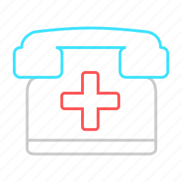 appointment, call, emergency, enquiry, medical, phone icon