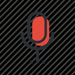 mic, microphone, record, sound, voice icon