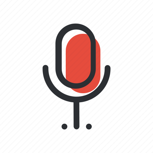 Mic, microphone, record, sound, voice icon - Download on Iconfinder