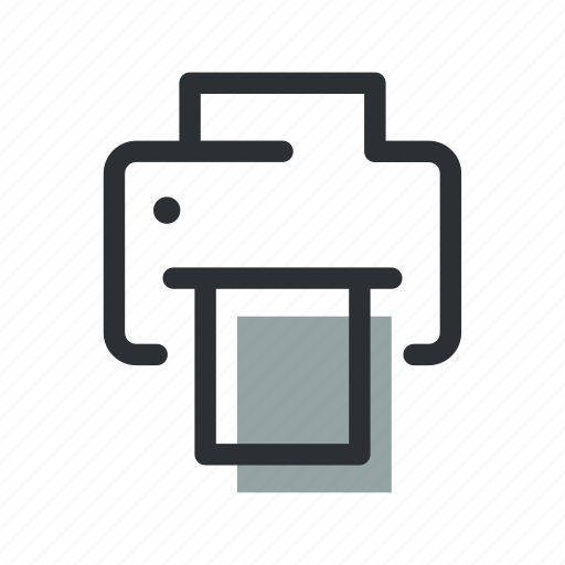 Device, document, paper, print, printer, scanner, technology icon - Download on Iconfinder