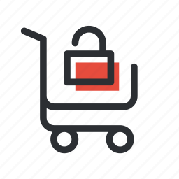 buy, cart, ecommerce, safe, secure, shop, shopping icon
