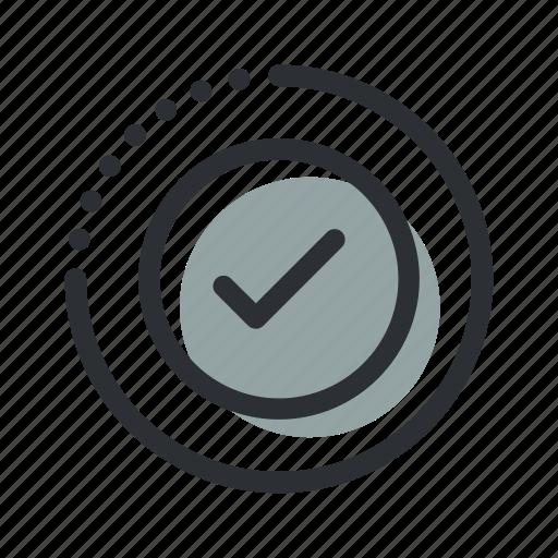 accept, check, complete, correct, done, ok, tick icon