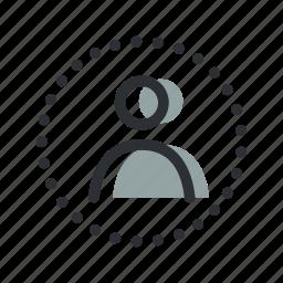 account, avatar, login, man, person, profile, user icon