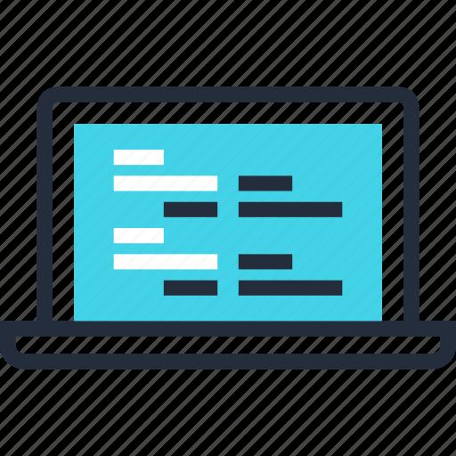 application, code, coding, computer, development, program, software icon