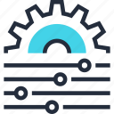 cogwheel, configuration, menu, optimization, options, settings, tweak icon