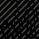 achievement, bars, business, development, graphic, graphics, stats icon