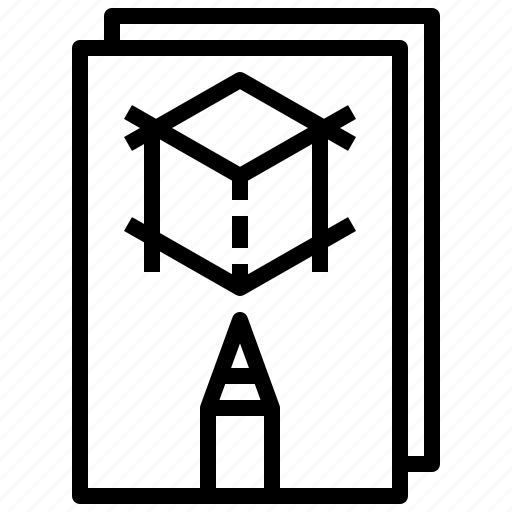 drawing, edit, notebook, sketch, sketchbook, tools icon