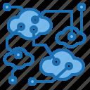 cloud, creative, imagination, innovation, inspiration, process, technology icon