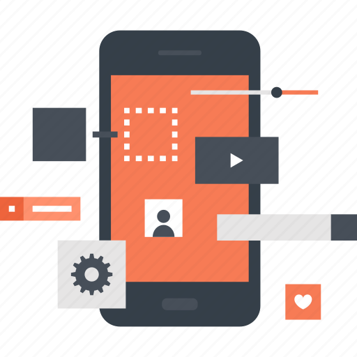 app, application, development, interface, mobile, software, web icon
