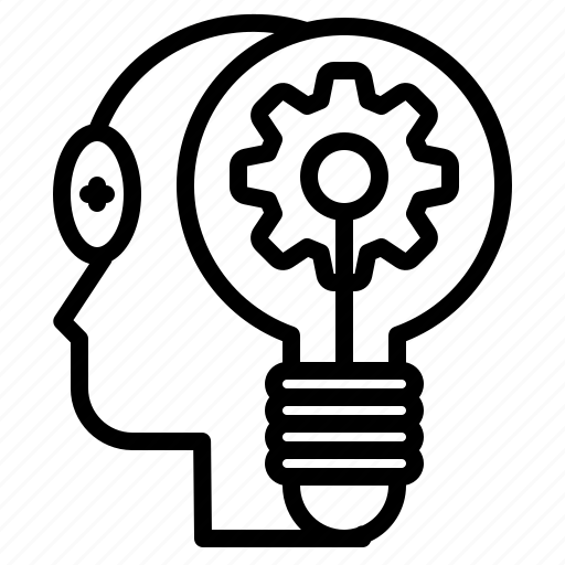 idea, imagination, innovation, inspiration, invention, progress, solution icon