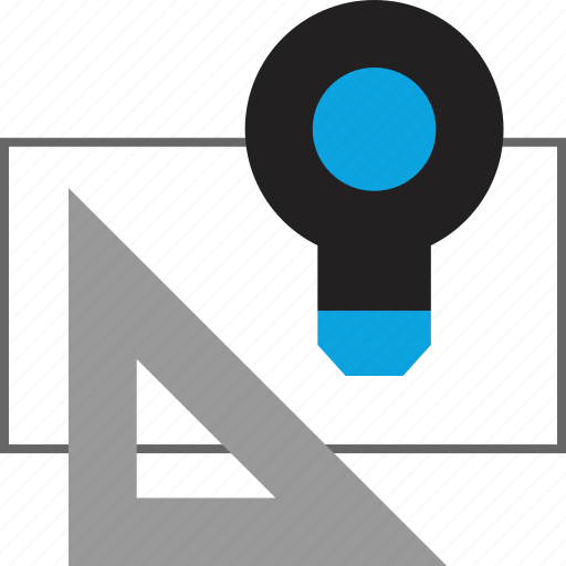 Design, measure, thinking icon - Download on Iconfinder
