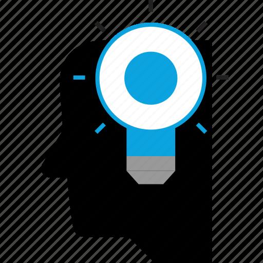 designer, idea, thinking icon