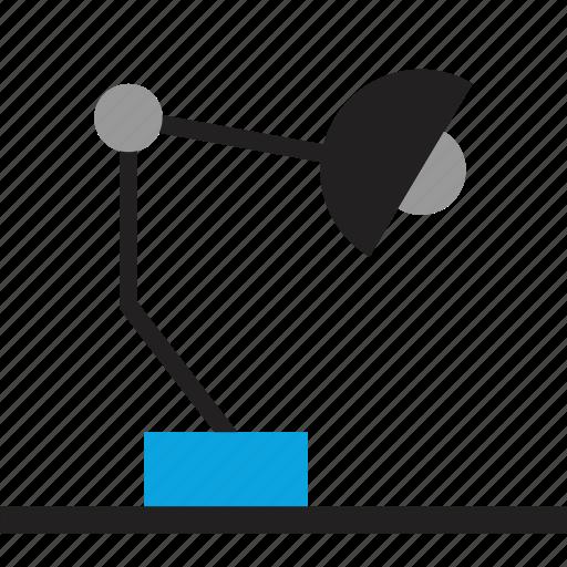 Designer, desk, lamp icon - Download on Iconfinder