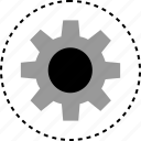 gear, option, settings icon
