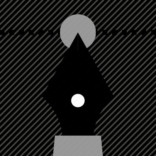design, pen, thinking, tool icon