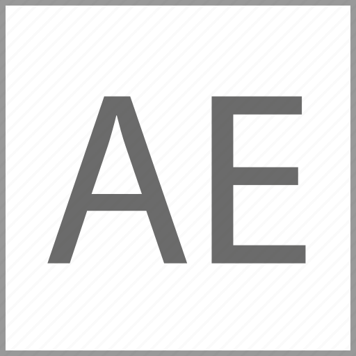 adobe, after, effects, software icon
