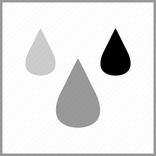 color, drops, rbg icon