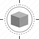 creative, cube, design, edit icon