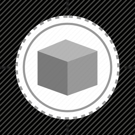 creative, cube, design, edit icon