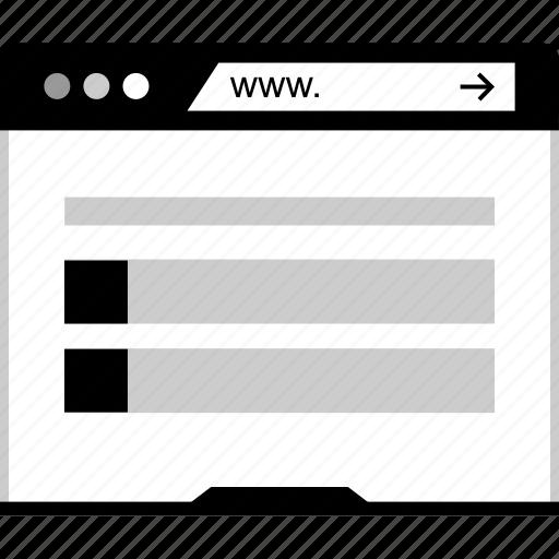 design, mockup, web, www icon