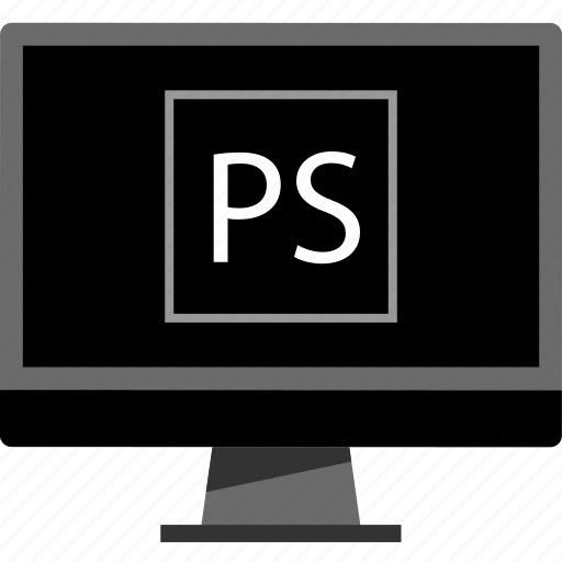mac, pc, photoshop, software icon