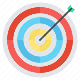 aim, business, marketing, seo, target icon