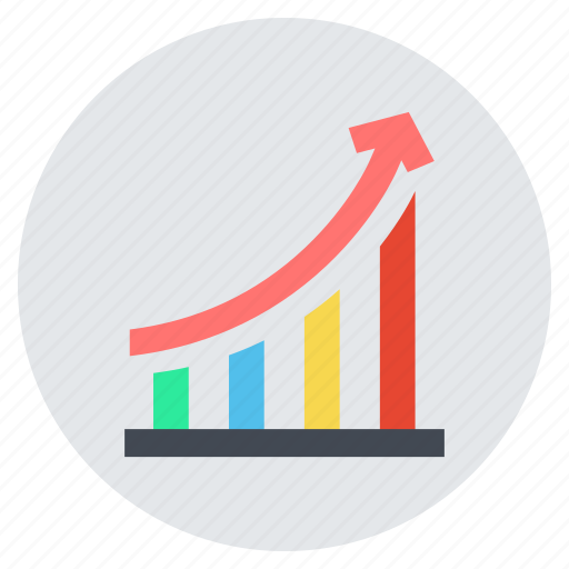 analytics, bar chart, business, graph, growth, marketing, sucess icon
