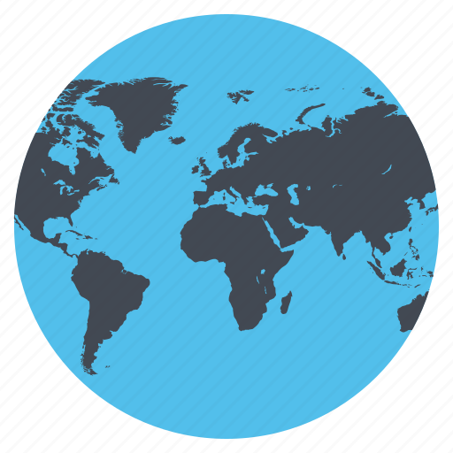 earth, global, globe, location, map, world, world map icon