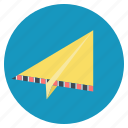 contact, email, launch, origami, paper plane, send