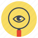eye, magnify, search, view, zoom, magnifier, magnifying