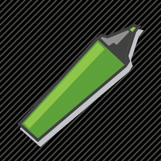 design, highlighter, marker pen icon