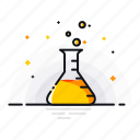 beaker, chemical, gas, labortory, liquid, research, science icon