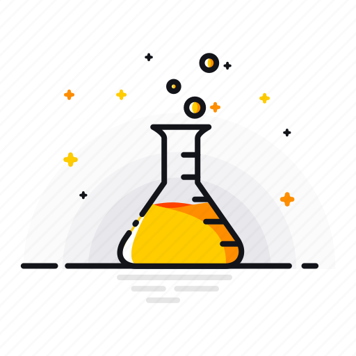 Beaker, chemical, gas, labortory, liquid, research, science icon - Download on Iconfinder