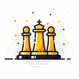 battle, checkmate, chess, gambit, game, king, pawn icon