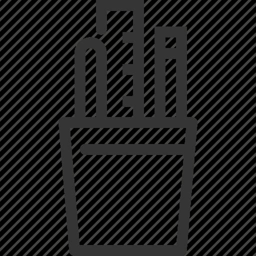 box, design, development, pencil, project, ruler, tools icon