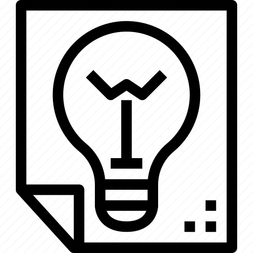Creativity, design, document, idea, paper, thinking icon - Download on Iconfinder