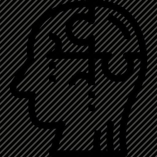 business, complex, creativity, design, solution, strategy icon