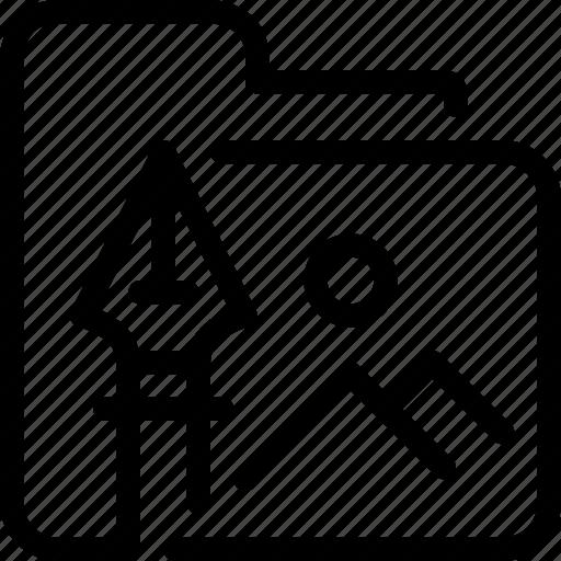 Art, creative, design, document, file, folder icon - Download on Iconfinder