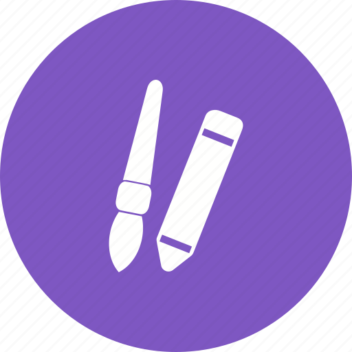 Art, brush, drawing, paint, paintbrush, palette, pencil icon - Download on Iconfinder