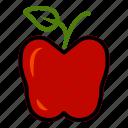 apple, autumn, fall, fruit
